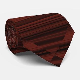 Creative Original Stylish Reddish Brown Abstract Tie