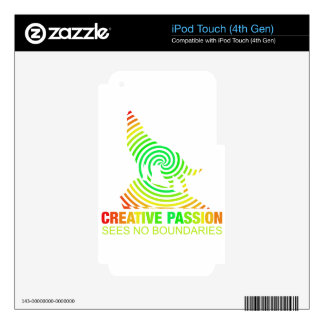Creative Passion See's No Boundaries Skin For iPod Touch 4G