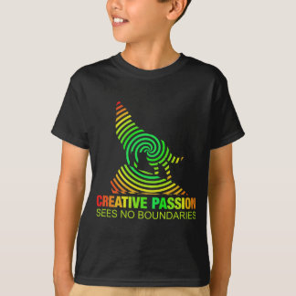Creative Passion See's No Boundaries T-Shirt