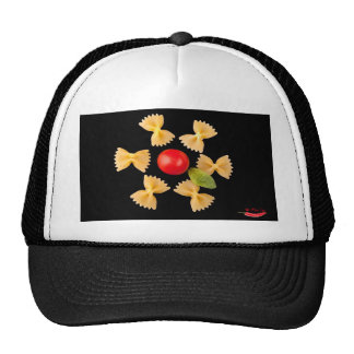 Creative Pasta Flower Hats