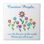 Creative People Ceramic Tiles
