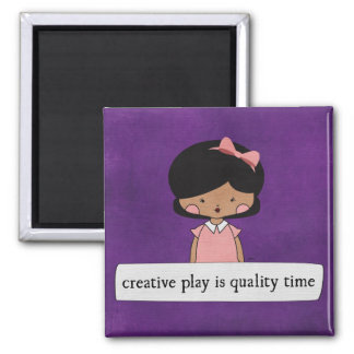 Creative Play By Linda Tieu.jpg Magnet
