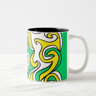 Creative Precious Grandiose Classic Two-Tone Coffee Mug