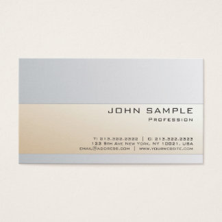 Creative Professional Modern Graceful Colors Business Card