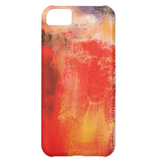 Creative Red Abstract iPhone 5C Cover