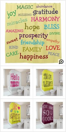 Creative Shower Curtains