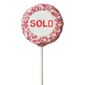 Creative Sold items design Chocolate Covered Oreo Pop