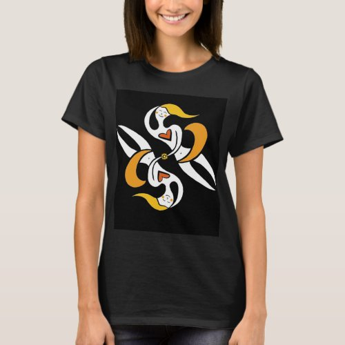 Creative Spirits in Orange T shirt