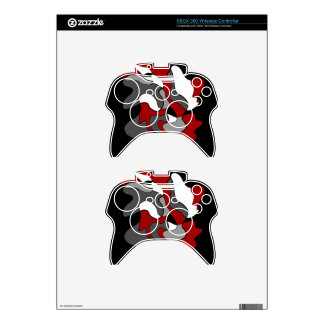 Creative spot - red xbox 360 controller decal
