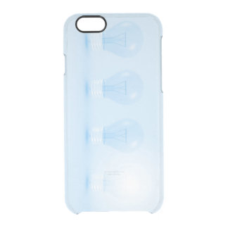 Creative Thinking and Thought for an Idea Clear iPhone 6/6S Case