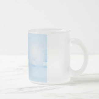 Creative Thinking and Thought for an Idea Frosted Glass Coffee Mug