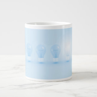 Creative Thinking and Thought for an Idea Large Coffee Mug