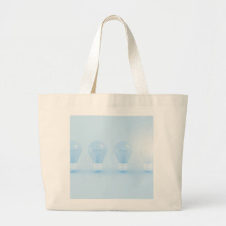 Creative Thinking and Thought for an Idea Large Tote Bag