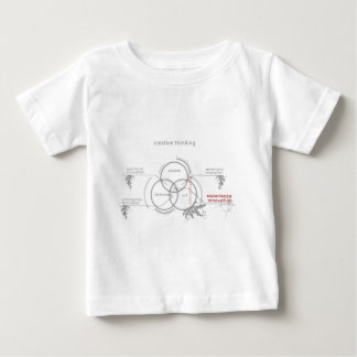 creative thinking baby T-Shirt