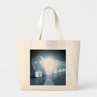 Creative Thinking Large Tote Bag