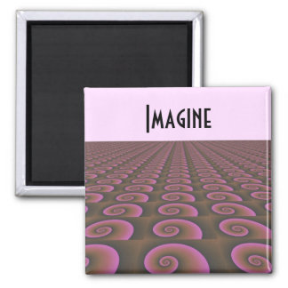 Creative Thinking Motivational Design Magnet
