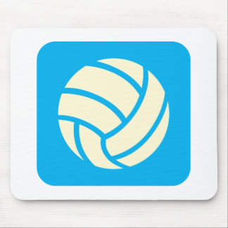 Creative Volleyball Logo Design Mouse Pad