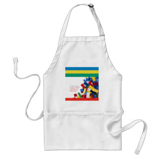 Creative Writer's Block Solution Adult Apron