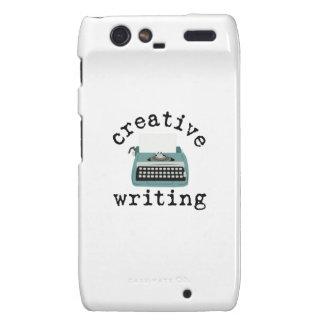 Creative Writing Motorola Droid RAZR Covers