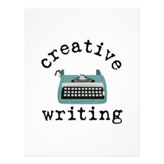 Creative Writing Letterhead