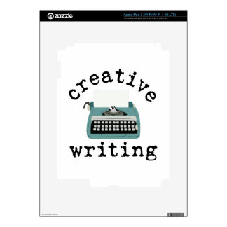 Creative Writing iPad 3 Decal