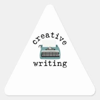 Creative Writing Triangle Sticker