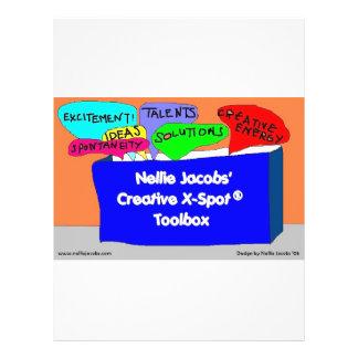 Creative X-Spot® Toolbox Full Color Flyer