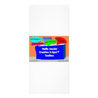 Creative X-Spot® Toolbox Full Color Rack Card