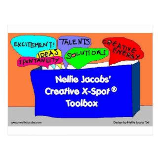 Creative X-Spot® Toolbox Postcard