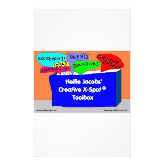 Creative X-Spot® Toolbox Customized Stationery