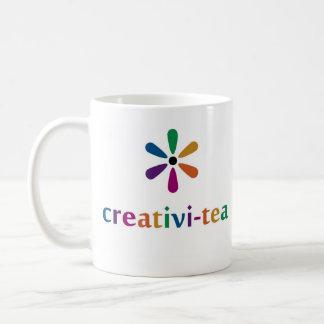 Creativi-té Taza Básica Blanca