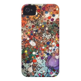 Creatividad en un nivel celular funda para iPhone 4 de Case-Mate