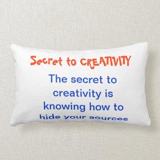 CREATIVIDAD no más un SECRETO Cojines