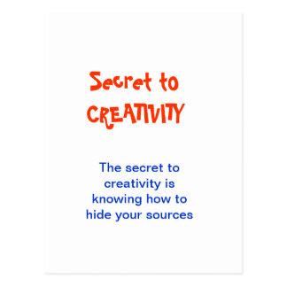 CREATIVIDAD no más un SECRETO Postales
