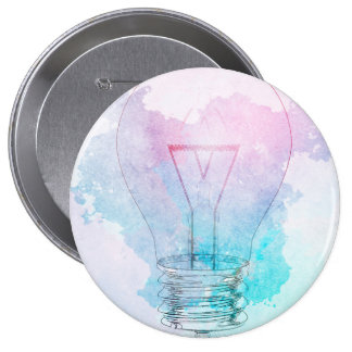 Creativity and Business Innovation as a Concept Pinback Button