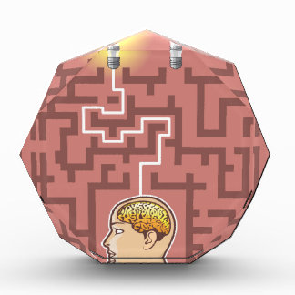 Creativity Brainstorming Passage through Maze Award