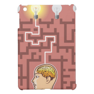 Creativity Brainstorming Passage through Maze Cover For The iPad Mini
