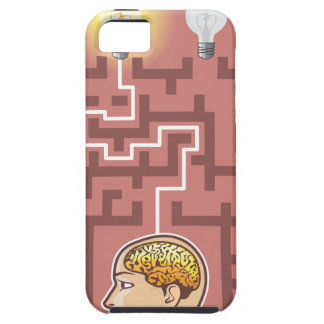 Creativity Brainstorming Passage through Maze iPhone SE/5/5s Case