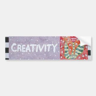 Creativity Bumper Sticker