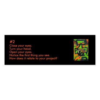 Creativity Cluze Business Card 2