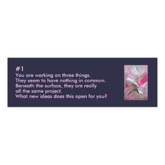 Creativity Cluze Business Card One
