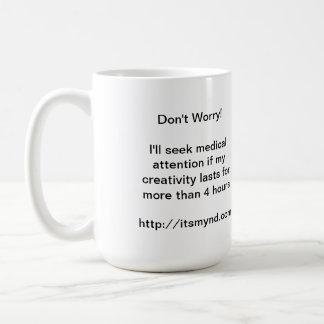 Creativity Dysfunction mug