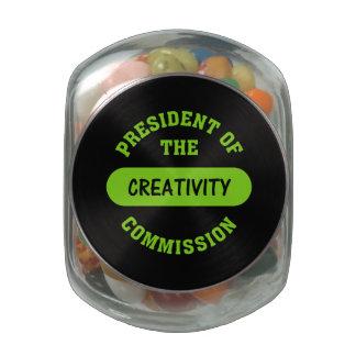 Creativity Glass Jars