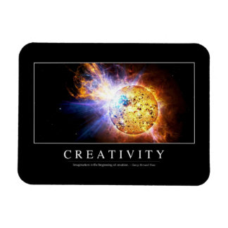 Creativity: Inspirational Quote Magnet