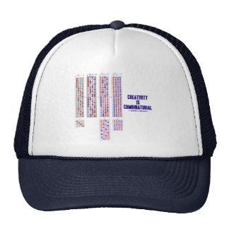Creativity Is Combinatorial (Permutations) Trucker Hat