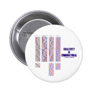 Creativity Is Combinatorial (Permutations) Pins