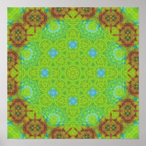 Creativity Mandala Print