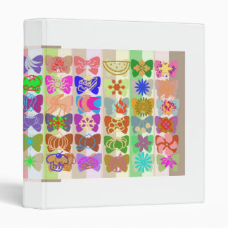 Creativity n Happiness : Butterfly Show 3 Ring Binder