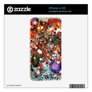 Creativity on a Cellular Level Skin For iPhone 4S