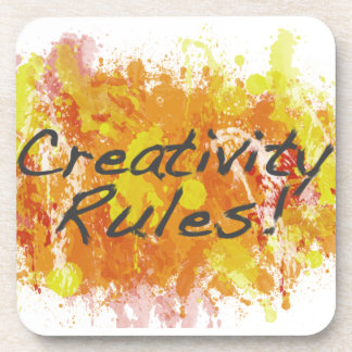 Creativity Rules! Drink Coaster